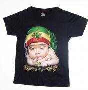 Zvětšit fotografii -  Dětské tričko -  Chlapeček s Mariánkou