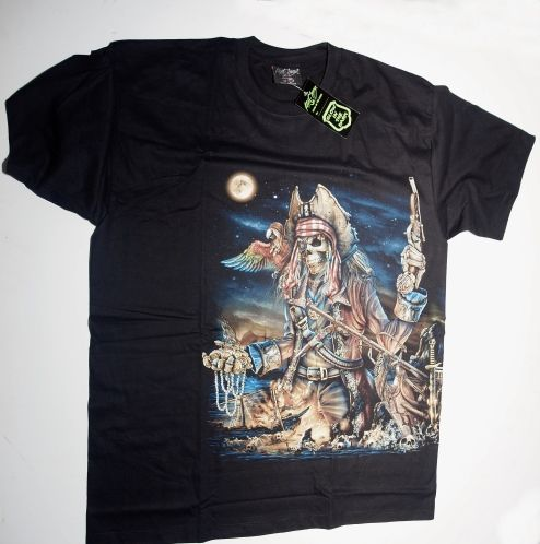 Tričko s potiskem Pirráte. TRIK156