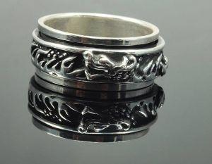 Prsten kroužek - Drak