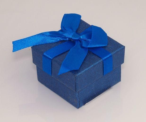Krabička na šperky Modrá