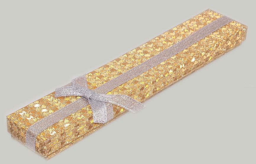 Krabička na šperky Zlatá