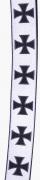 2.Motorkářské šle, kšandy. Maltézský kříž ČB
