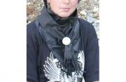 Motorkářský kožený šátek na krk MODABIKERU