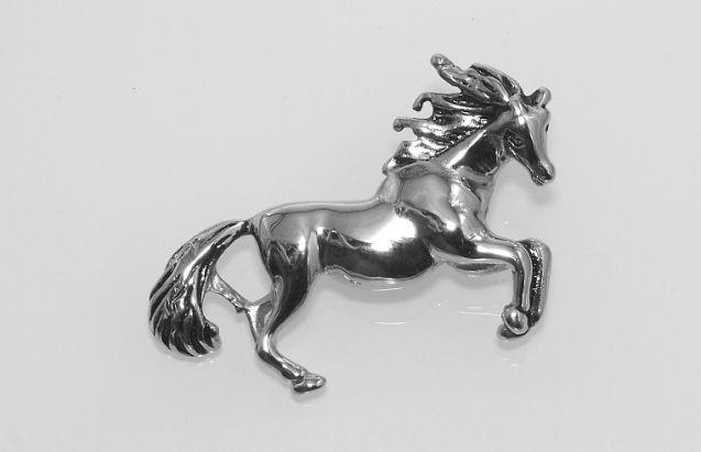 Ocelový přívěsek Kůň No.03