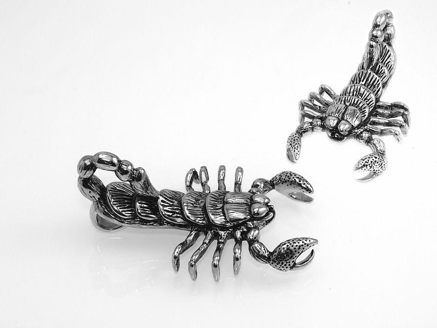 Ocelový přívěsek Škorpión No.02