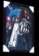 3,Trojrozměrný obraz 3D. Pistolník Rabba.