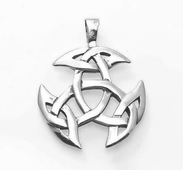 Stříbrný přívěsek Keltská Triáda. 070161033