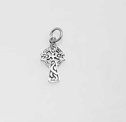 Stříbrný přívěsek Keltský kříž No.01