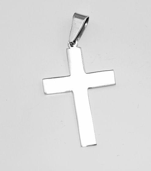 Stříbrný přívěsek, křesťanský kříž. AGPRIV620325