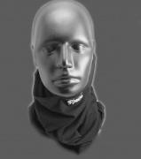 3.Multifunkční šátek na krk a obličej.