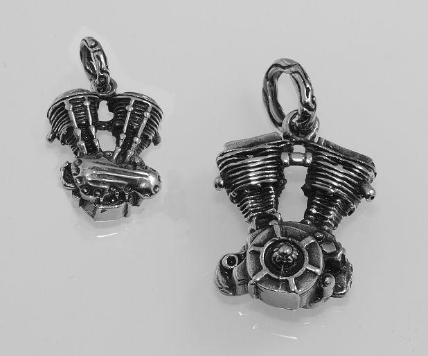 Přívěsek  chirugická ocel motor V