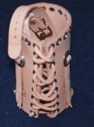 Kožený obal na Pet Láhev