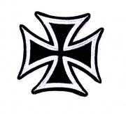 Nášivka - Maltézský kříž
