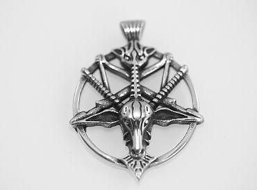 Přívěsek z chirugické oceli, Obrácený Pentagram Behemoth