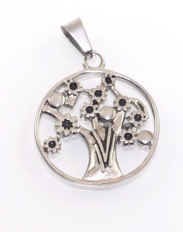 Přívěsek z chirugické oceli Strom života