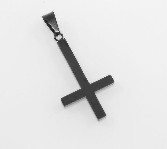 Přívěsek ocel, Obracený kříž