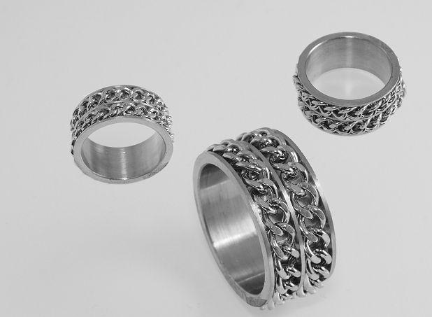 Prsten z chirugické oceli Haddanne II.