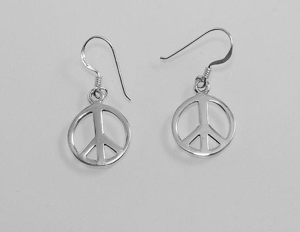 Stříbrné náušnice Hippies