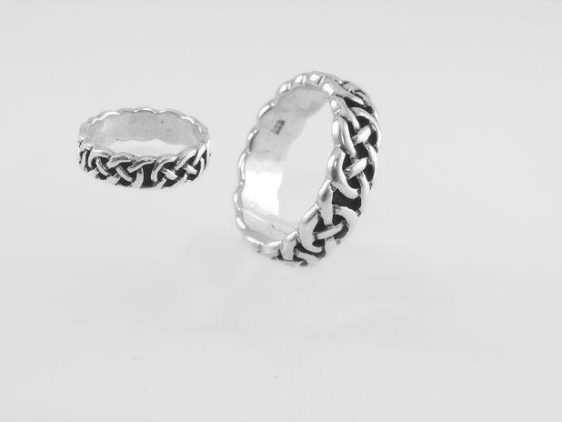 Stříbrný prsten Kelt 22