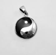 Přívěsek Stříbrný přívěsek Jing Jang