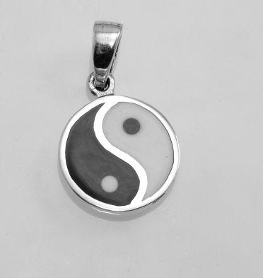 Stříbrný přívěsek Jing Jang No.08