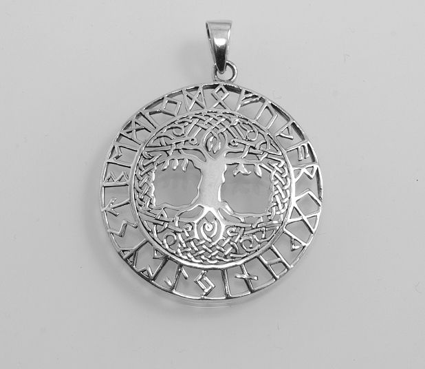Stříbrný přívěsek, Strom života No.02