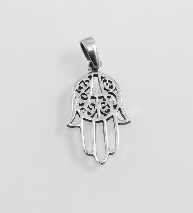 Stříbrný přívěsek Fatimina ruka No.05