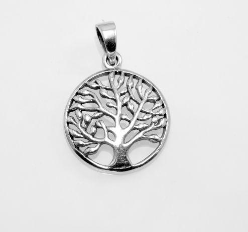 Stříbrný přívěsek Strom života No.020