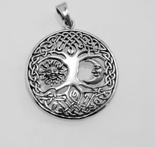 Stříbrný přívěsek Strom života No.023