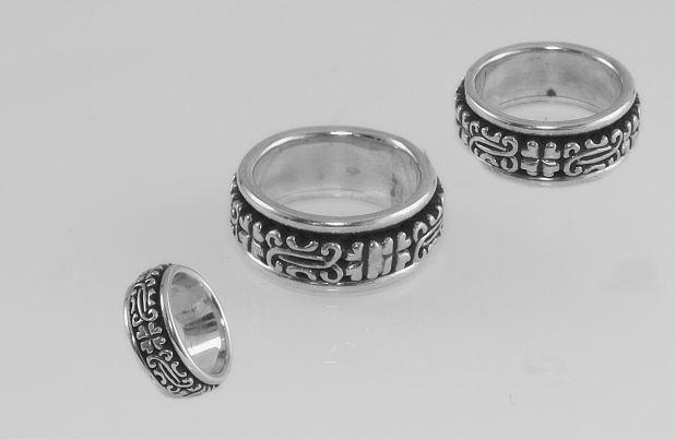 Stříbrný prsten Kroužek No.029