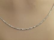 2.Stříbrný řetízek Doldren No.04
