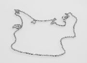 3.Stříbrný řetízek Doldren No.04