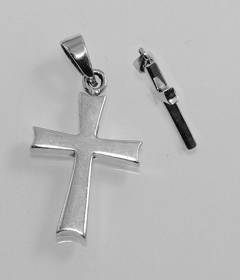 Stříbrný přívěsek, Křížek