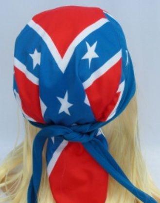 Šátek Jižanská vlajka Konfederace