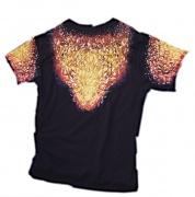 2. Zadní část trička Tygr