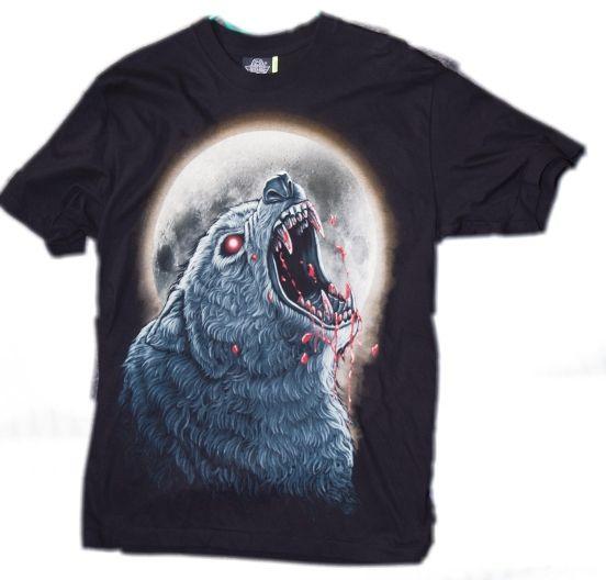 Tričko s potiskem Vlka