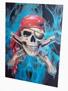 2D Obraz Pirátská lebka