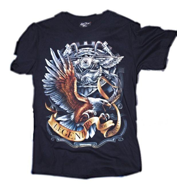 Značková trička s motorkářskými motivy 20a9f5b07a