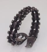 2.Náramek z chirugické oceli Lebky Black 2