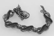 3. Náramek z chirugické oceli Drak