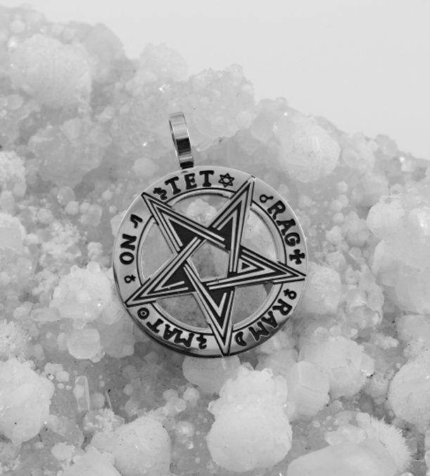 Přívěsek chirugická ocel Tetragrammaton