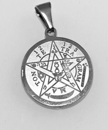 Přívěsek z chirugické oceli Tetragrammaton