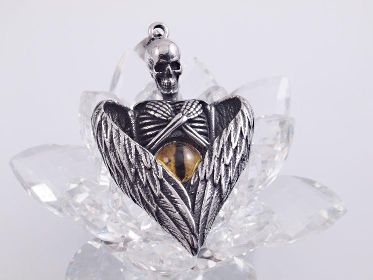 Přívěsek z chirugické oceli Démon Furgánno