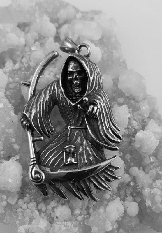 Ocelový přívěsek Poutník smrti