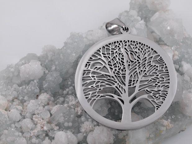 Přívěsek z chirugické oceli Strom života No.29