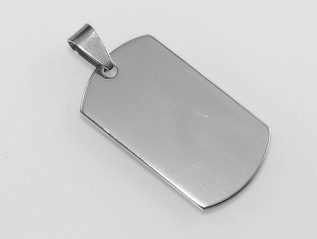 Přívěsek chirugická ocel Psí známka