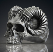 3.Prsten chirugická ocel, Beraní hlava