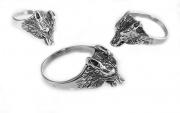 Prsten Vlčí hlava