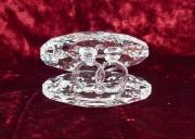 Skleněná dekorace Mušle s prsteny