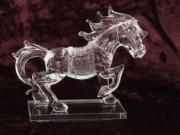 Skleněná dekorace Kůň
